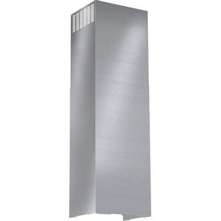 Bosch HCPEXT Range Hood Duct Cover Extension for up to 11-1/2 Foot High Ceilings - STAINLESS STEEL