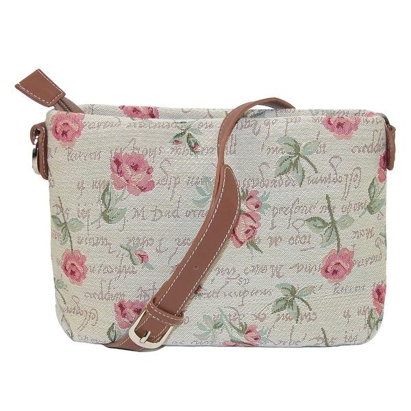 CTM® Women's Tapestry Cross Body Handbags - One size