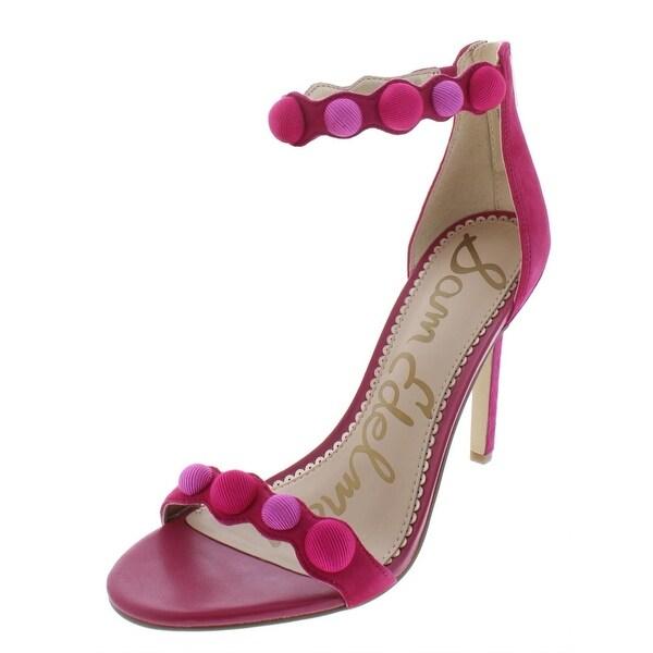 2322cd453a3d Shop Sam Edelman Womens Addison Dress Sandals Suede Ankle Strap ...