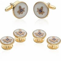 Mother Of Pearl Masonic Formal Set