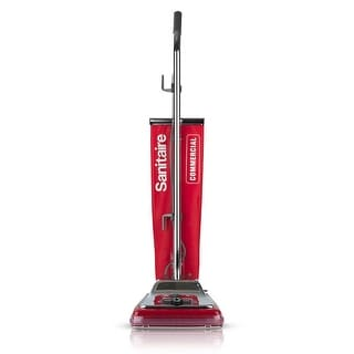 Sanitaire SC886E Commercial Upright Vacuum Cleaner With Reusable Cloth Bag - Red