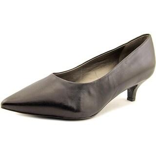 Trotters Paulina WW Pointed Toe Leather Heels