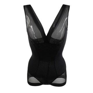 Black Size XL Full Body Tummy Belly Waist Shaping Underwear Bodysuits Shaper