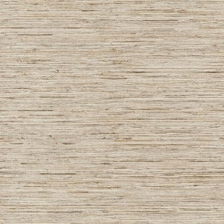 "RoomMates RMK9031WP 20-1/2"" x 198"" - Grasscloth - Self Adhesive Vinyl Film - 28.18 Sq. Ft."