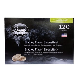 Bradley Smoker Btap120 Apple Flavoured Bisquettes Pack Of 120