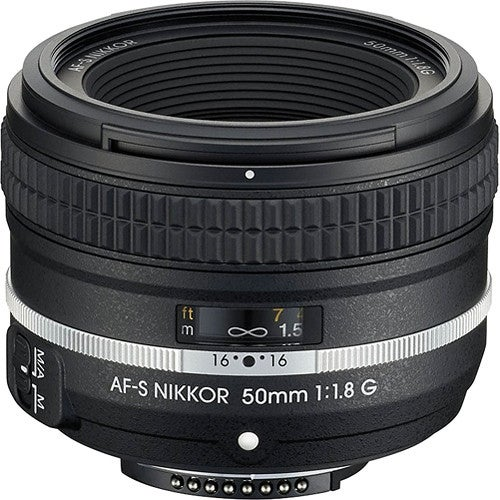 Nikon AF-S NIKKOR 50mm f/1.8G Special Edition Lens (International Model)