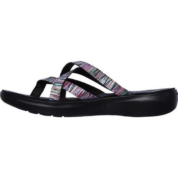 Shop Skechers Women's On the GO Luxe Luvly Thong Sandal