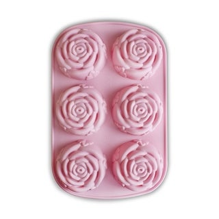 Silicone Rose Muffin Mold