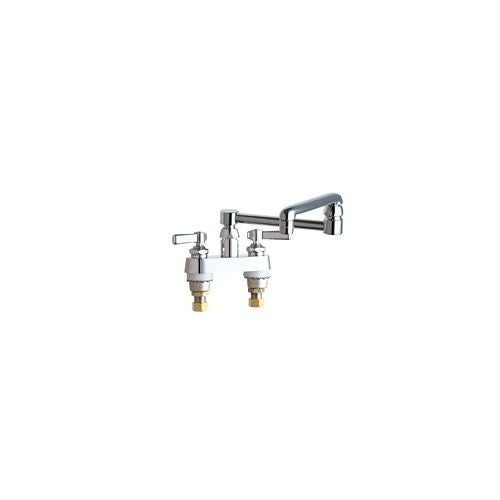 Shop Chicago Faucets 891 Dj13ab Deck Mounted Pot Filler Faucet With