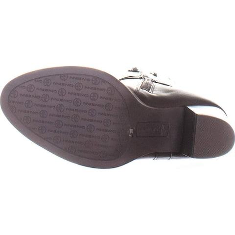Giani Bernini GB35 Rozario Knee High Block Heel Boots, Chocolate, 6.5 US