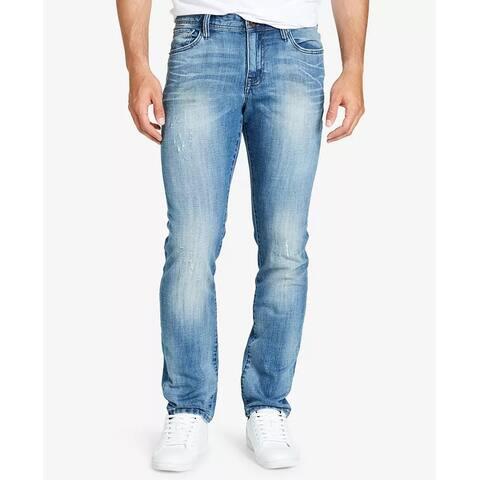 WILLIAM RAST Men's Slim Straight Fit Dean Jeans Blue Size 40X32