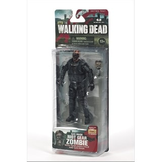 "The Walking Dead TV Series 4 5"" Action Figure: Riot Gear Gas Mask Zombie"