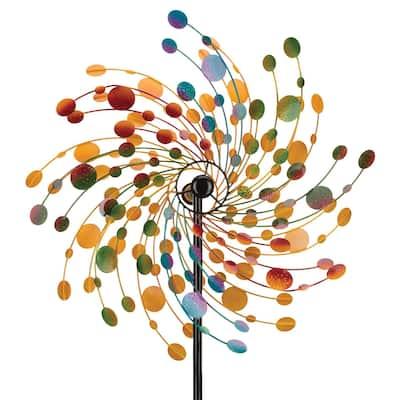 "32 Rotating Wind Spinner - Confetti - 32""X9.5""X84"""