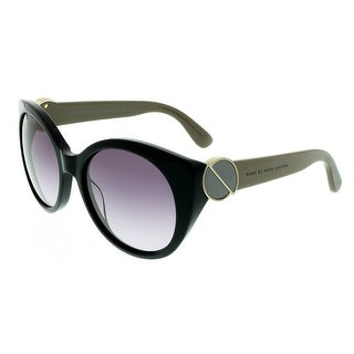 Marc Jacobs MMJ396/S 05YE Black Round Sunglasses