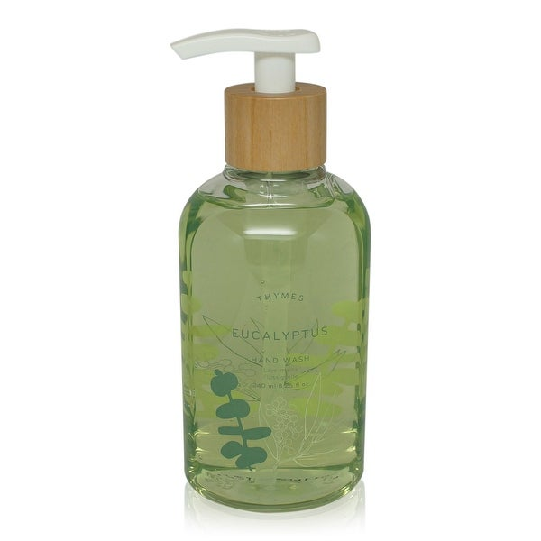Thymes Hand Wash Eucalyptus 8.25-Oz Pump Bottle