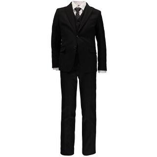 Little Gentleman Boys 2T-20 5-Piece Suit - Black