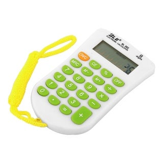 School Home Study Tool Pocket 8 Digits Electronic Calculator Colorful