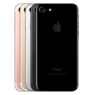 Apple iPhone 7 128GB Unlocked GSM Quad-Core Phone w/ 12MP Camera (Refurbished)