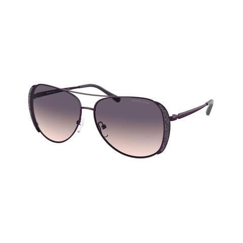 Michael Kors MK1082 199836 58 Iris Woman Pilot Sunglasses