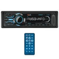 BOSS Audio MR1308UABK Single Din, Bluetooth, MP3/WMA/USB/SD AM/FM Weather-Proof Marine Stereo