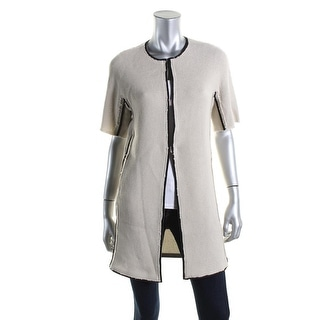 Elie Tahari Womens Reversible Bea Coat - XS