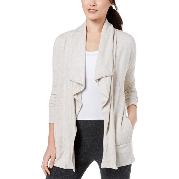 39215383e5a1e Shop Calvin Klein Performance Womens Cardigan Fitness Yoga - On Sale ...
