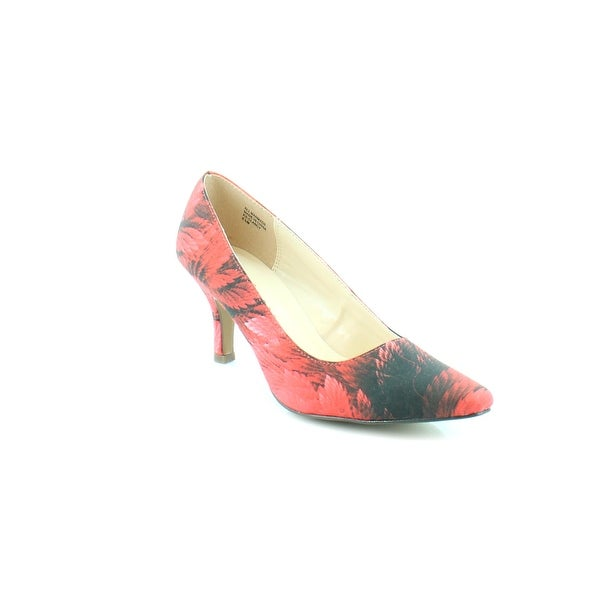 Karen Scott Clancy Women's Heels Red Floral