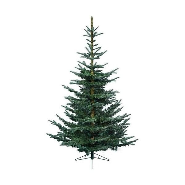 "5' x 40.25"" Everlands Layered Superior Nobilis Fir Artificial Christmas Tree - Unlit"