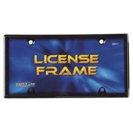 Custom Accessories 92511 License Plate Frame, Black