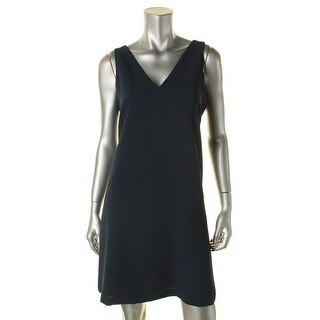 Lauren Ralph Lauren Womens Casual Dress Georgette Internal Liner