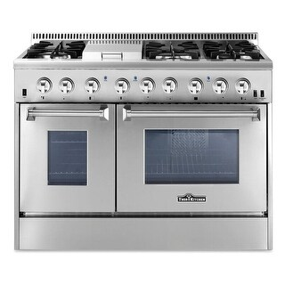 Thor Kitchen HRD4803U 48 Inch Wide 6.7 Cu. Ft. Capacity Freestanding Dual Fuel R