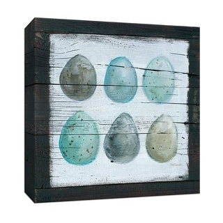 """PTM Images 9-147476  PTM Canvas Collection 12"""" x 12"""" - """"Stained Eggs"""" Giclee Eggs Art Print on Canvas"""