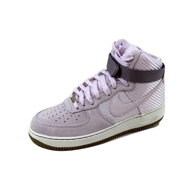 Nike Women's Air Force 1 Hi Premium Bleached Lilac/Bleached Lilac 654440-500