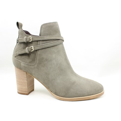 Cole Haan Womens Linnie Morel Suede Fashion Boots Size 10