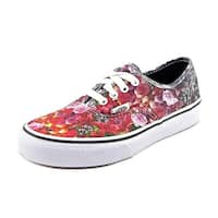 Vans Womens Floral Fade Low Top Lace Up Fashion Sneakers