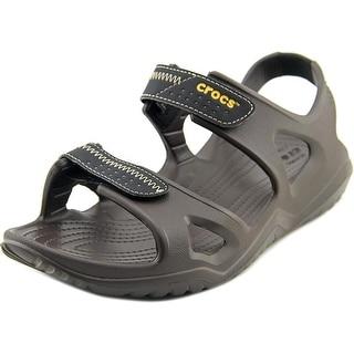 Crocs Swiftwater River Sandal Men Open-Toe Synthetic Slingback Sandal
