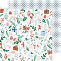 """Holiday Vibes Double-Sided Cardstock 12""""X12""""-Christmas Cheer"""