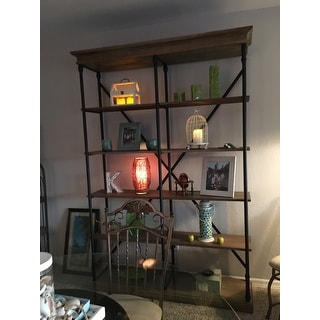 Barnstone Cornice Double Shelving Bookcase By Signal Hills