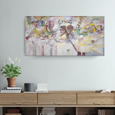 'Abstract XXI' Wrapped Canvas Wall Art