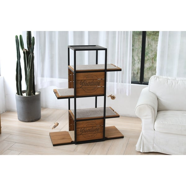 Country Crate Cat Tree. Opens flyout.