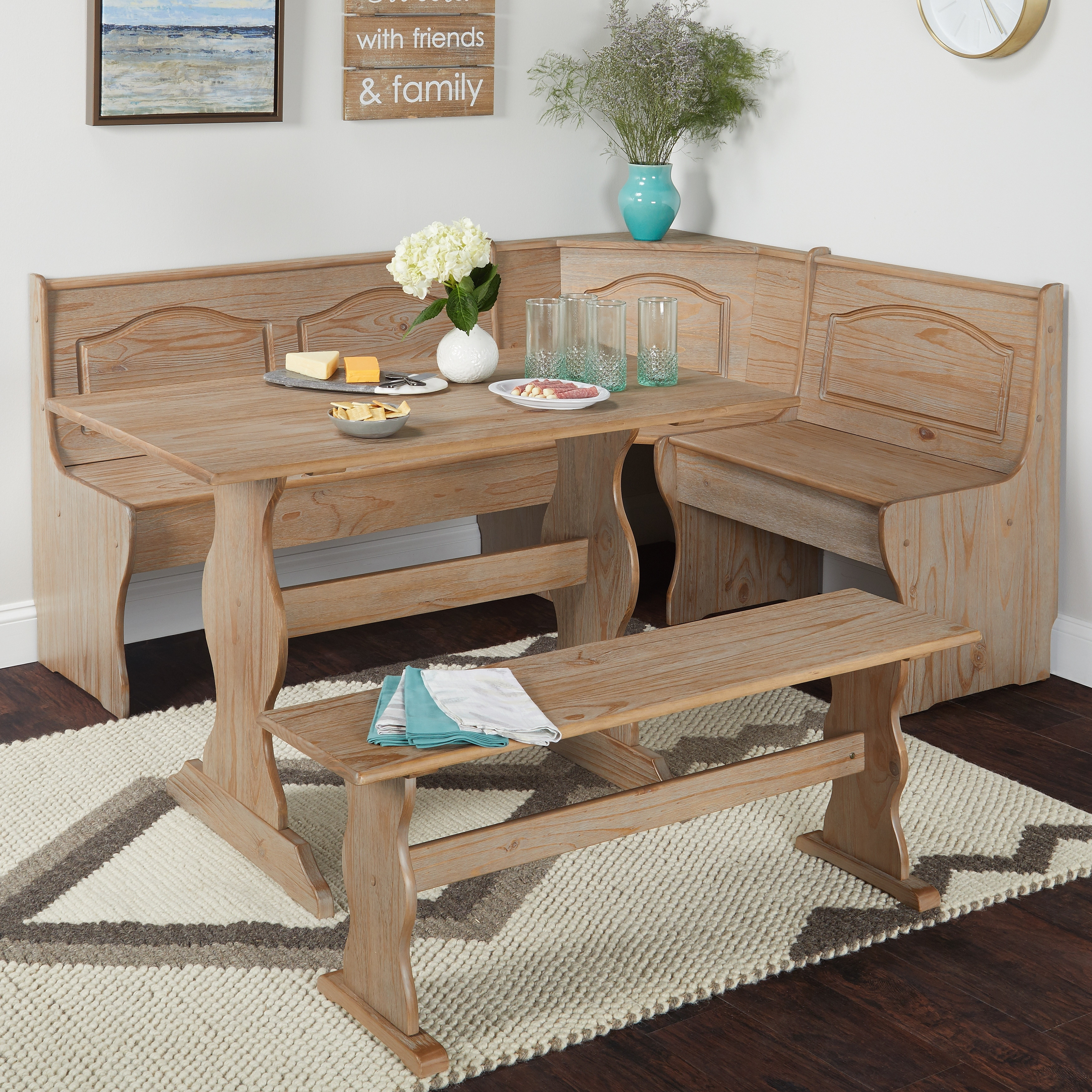 Picture of: Simple Living Knox Nook Dining Set On Sale Overstock 20004658