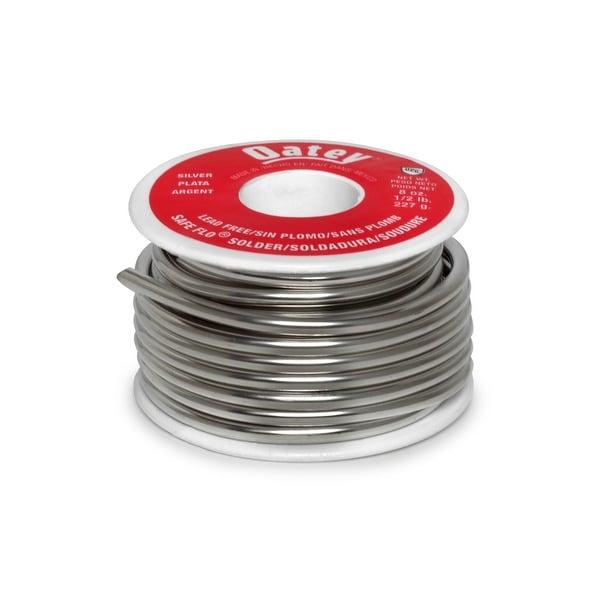 Oatey 29024 Safe-Flo Lead Free Plumbing Wire Solder 1/2 lbs, Silver