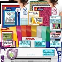 Silhouette Cameo 3 Machine Bundle - Guide Oracal Vinyl, Siser, Tools, Design