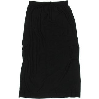Studio M Womens Maxi Skirt Modal Tencel Blend
