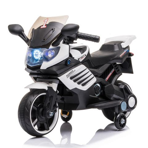 6V Electric Ride on Motorcycle with 3 Wheels