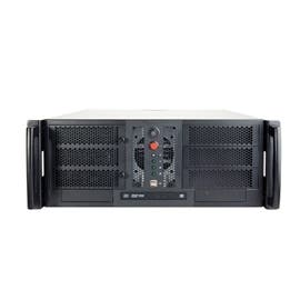 CHENBRO Case Rackmount RM41300-F1 4U Open-Bay No PSU No Backplane 2 x USB 1 x Front Door
