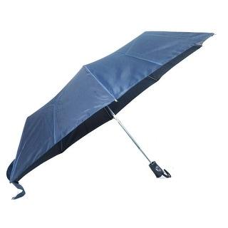 Raines by Totes Automatic Umbrella Navy Umbrella with Medium Coverage