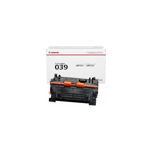 Canon 039 Toner Cartridge - Black 0287C001 Toner Cartridge