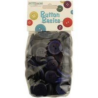 Navy Blue - Button Candy Bags 5.5Oz Assorted Buttons