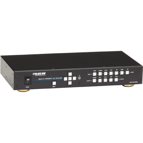 """Black Box AVSC-7DA-HDMI Black Box Multi-Format AV Scaler with DisplayPort - Functions: Video Scaling - 2560 x 1600 - NTSC, PAL,"
